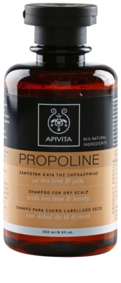 Apivita Propoline Tea Tree & Honey sampon száraz, viszkető fejbőrre