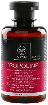 Apivita Propoline Lupin & Laurel tonizáló sampon a ritkuló hajra