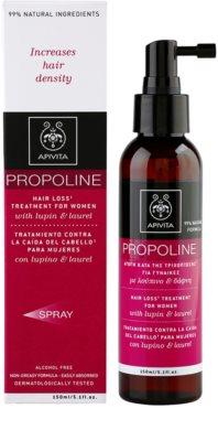 Apivita Propoline Lupin & Laurel cuidado anticaída 1