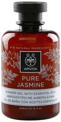 Apivita Pure Jasmine gel za prhanje z eteričnimi olji
