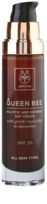 Apivita Queen Bee crema de zi anti-imbatranire SPF 20 1
