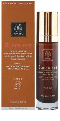 Apivita Queen Bee crema de zi anti-imbatranire SPF 20 2