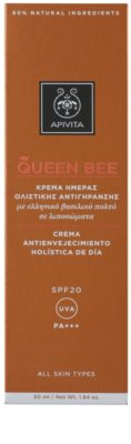 Apivita Queen Bee crema de zi anti-imbatranire SPF 20 3