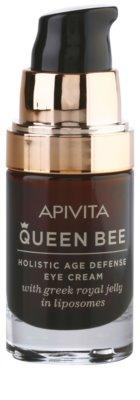 Apivita Queen Bee Augencreme gegen Falten und dunkle Augenringe 1