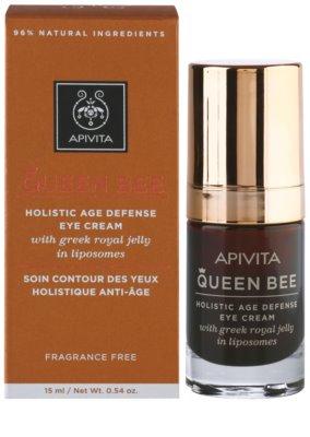 Apivita Queen Bee Augencreme gegen Falten und dunkle Augenringe 2