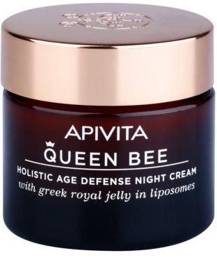 Apivita Queen Bee Nachtcreme gegen Hautalterung