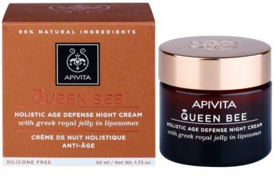 Apivita Queen Bee Nachtcreme gegen Hautalterung 1