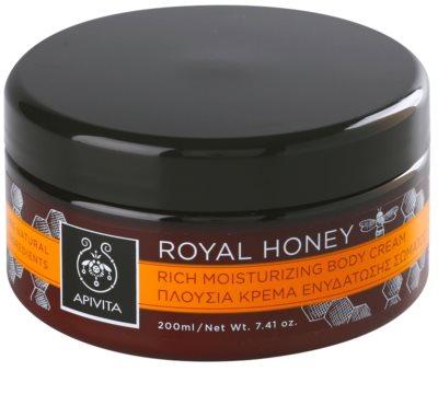 Apivita Royal Honey crema de corp hidratanta cu uleiuri esentiale
