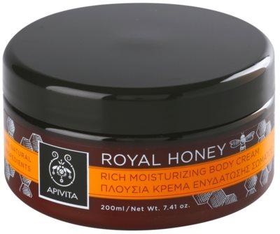 Apivita Royal Honey nawilżający krem do ciała z olejkami eterycznymi