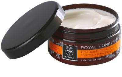 Apivita Royal Honey creme corporal hidratante com óleos essenciais 1