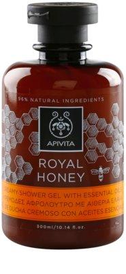 Apivita Royal Honey кремовий гель для душу з есенціальними маслами