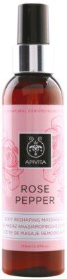 Apivita Rose Pepper Feszesítő masszázs olaj narancsbőrre