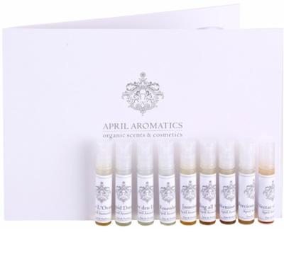 April Aromatics Deluxe Sample Set lote de regalo
