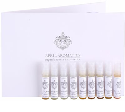 April Aromatics Deluxe Sample Set set cadou