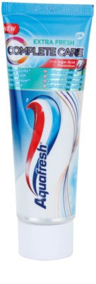 Aquafresh Complete Care Extra Fresh зубна паста з фтором для свіжого подиху