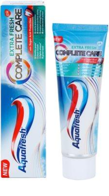 Aquafresh Complete Care Extra Fresh pasta de dientes con flúor para aliento fresco 1