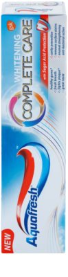 Aquafresh Complete Care Whitening pasta de dinti albitoare cu Fluor 2