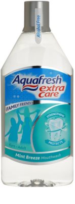Aquafresh Extra Care enjuague bucal sin alcohol