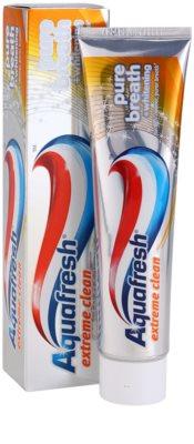 Aquafresh Extreme Clean fehérítő fogkrém a friss leheletért 2