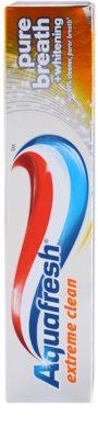 Aquafresh Extreme Clean fehérítő fogkrém a friss leheletért 3