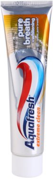Aquafresh Extreme Clean pasta de dientes blanqueadora para aliento fresco
