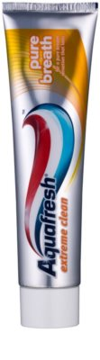 Aquafresh Extreme Clean pasta de dientes para aliento fresco