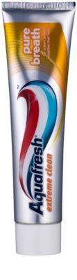 Aquafresh Extreme Clean Zahnpasta für frischen Atem