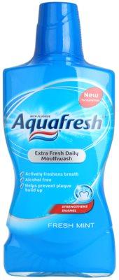 Aquafresh Fresh Mint płyn do płukania jamy ustnej odświeżający oddech