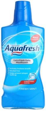 Aquafresh Fresh Mint szájvíz a friss leheletért