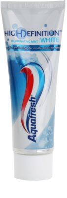 Aquafresh High Definition White zubní pasta pro zářivě bílé zuby