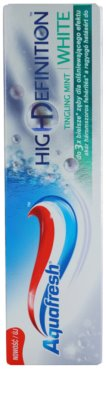 Aquafresh High Definition White zobna pasta 1