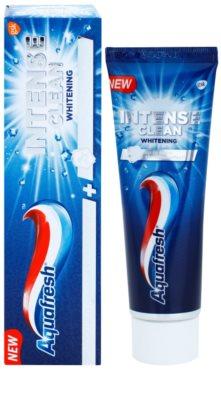 Aquafresh Intense Clean Whitening паста для білосніжних зубів 1