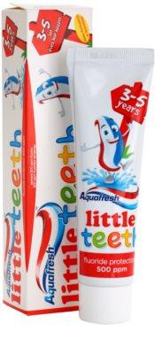 Aquafresh Little Teeth dentífrico para crianças 1