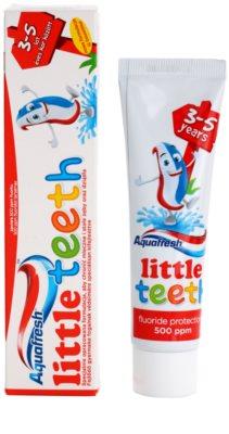 Aquafresh Little Teeth dentífrico para crianças 2
