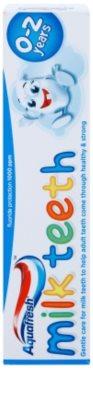 Aquafresh Milk Teeth pasta de dientes para niños 2
