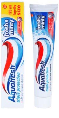Aquafresh Triple Protection Fresh & Minty паста за зъби 1