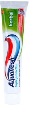 Aquafresh Triple Protection Herbal dentífrico