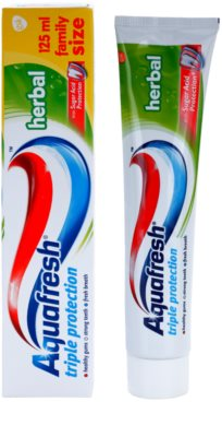 Aquafresh Triple Protection Herbal Zahnpasta 1