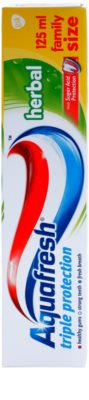 Aquafresh Triple Protection Herbal Zahnpasta 2