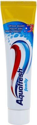 Aquafresh Family Protection fogkrém az egészséges fogakért és ínyért