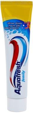 Aquafresh Family Protection pasta de dinti pentru dinti sanatosi si gingii sanatoase