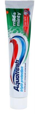Aquafresh Triple Protection Mild & Minty паста за зъби