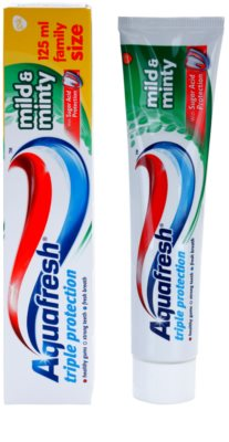 Aquafresh Triple Protection Mild & Minty Zahnpasta 1