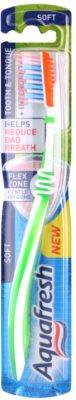 Aquafresh Tooth & Tongue zubní kartáček soft