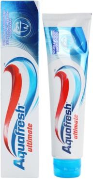 Aquafresh Ultimate fogkrém a fogak teljes védelméért 1