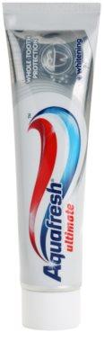 Aquafresh Ultimate zobna pasta za sijoče bele zobe