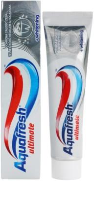 Aquafresh Ultimate zubní pasta pro zářivě bílé zuby 3