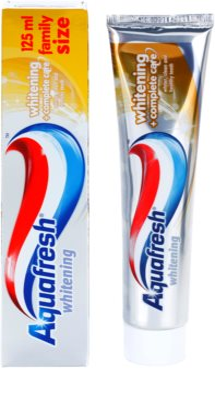 Aquafresh Whitening fehérítő fogkrém a teljes ápolásért 1