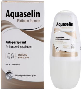 Aquaselin Platinum for Men antiperspirant roll-on 2