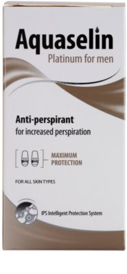 Aquaselin Platinum for Men antiperspirant roll-on 3